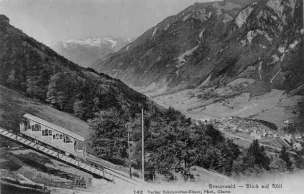 Braunwaldbahn mit Rueti
