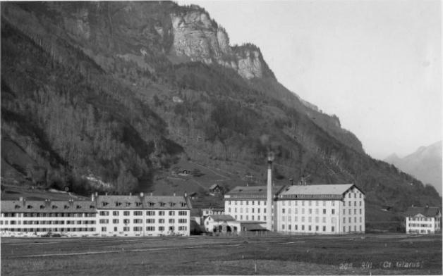 Cotlan Fabrik vor 1947