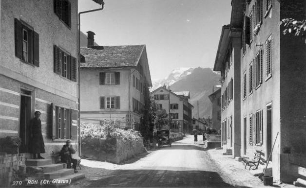 Dorfstrasse vor 1939