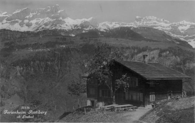 Ferienheim Restiberg vor 1935