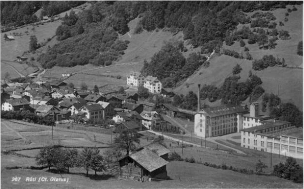 Rueti vor 1950